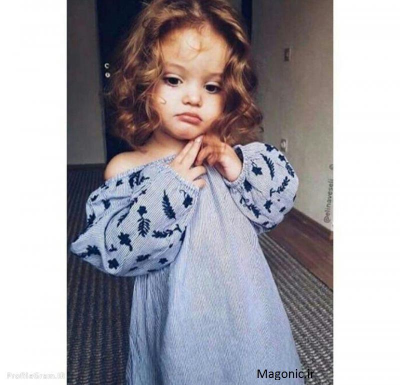 عکس دختر بچه فانتزی