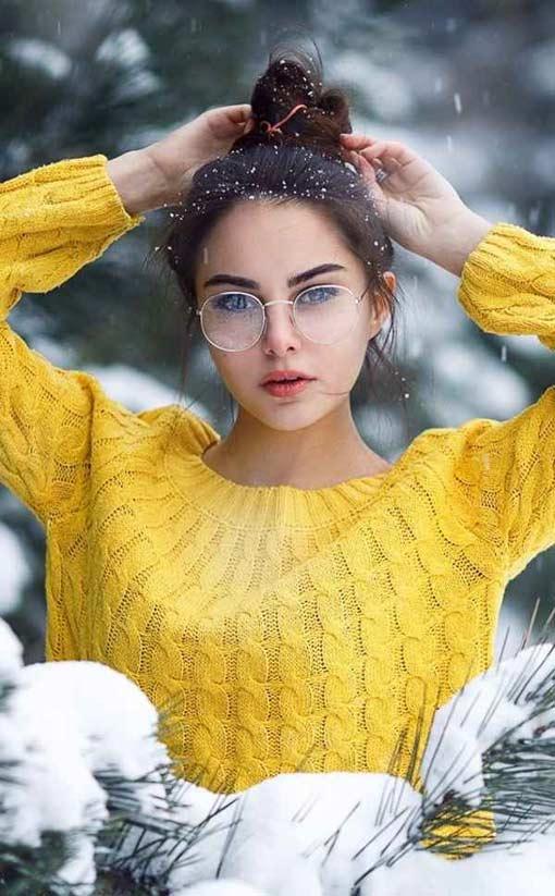 پروفایل فیک دخترونه زرد