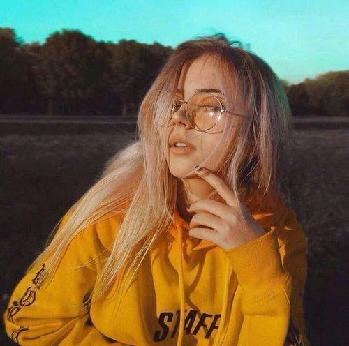 عکس پروفایل دخترونه زرد