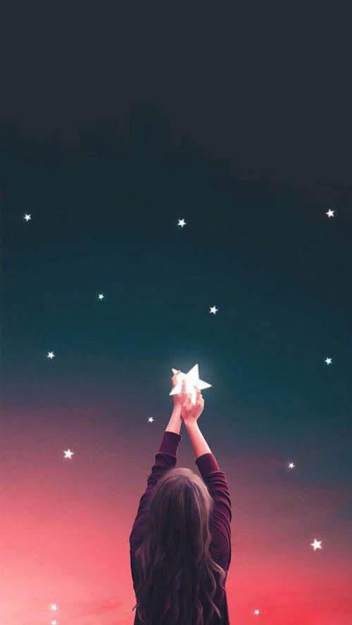 تصویر زمینه آسمان دخترونه