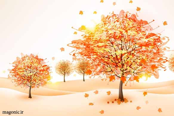 تصویر زمینه والپیپر و بک گراند پاییزی