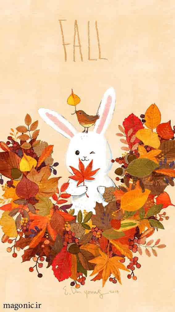 تصویر زمینه پاییز موبایل