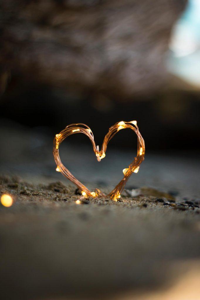 والپیپر قلب , عاشقانه