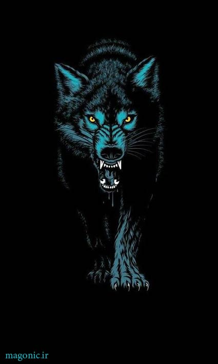 والپیپر پسرونه گرگ