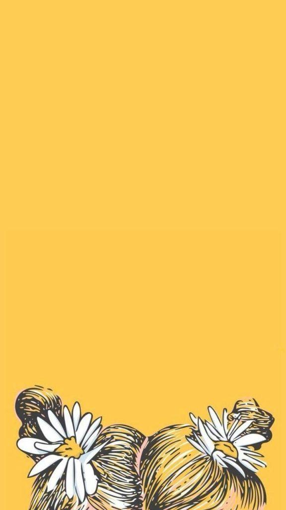 والپیپر و بک گراند زرد