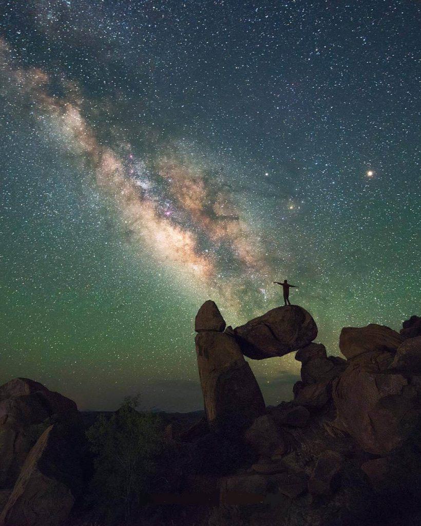 کهکشان راه شیری - عکس کهکشانی برای پروفایل