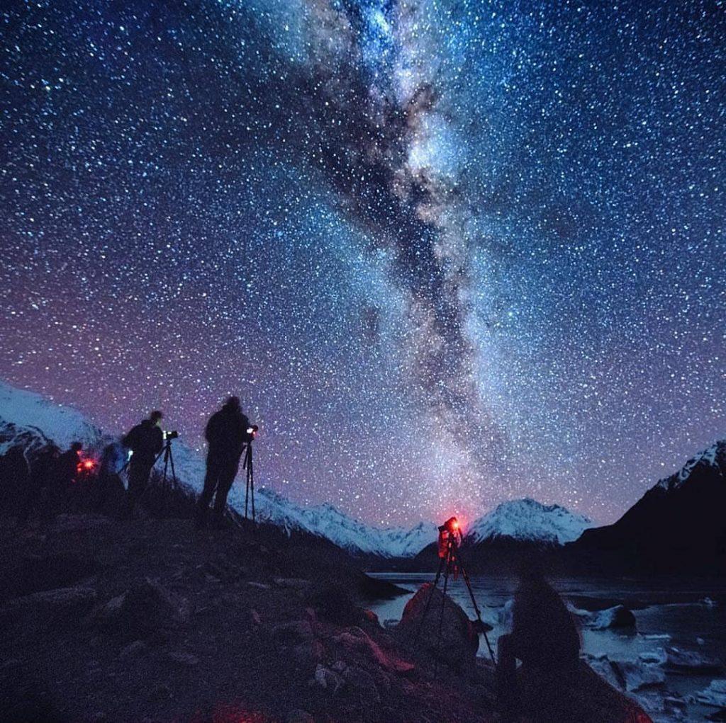 عظمت کهکشان راه شیری - عکس پروفایل کهکشانی