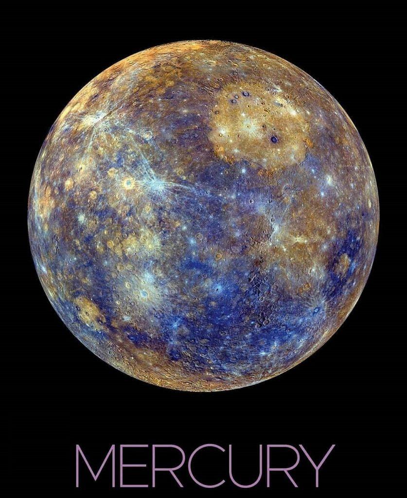 عکس زیبای سیاره عطارد