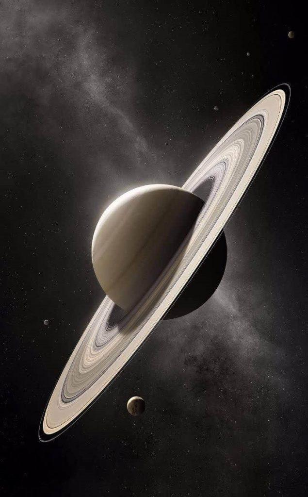 سیاره زحل - عکس پروفایل سیاره ها
