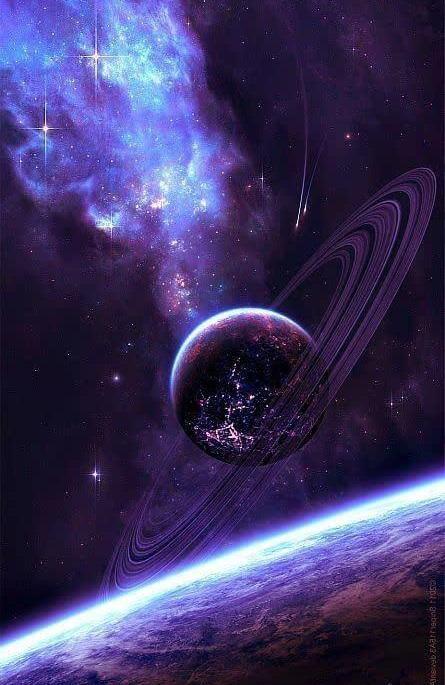 تصویری شگفت انگیز از سیاره ها