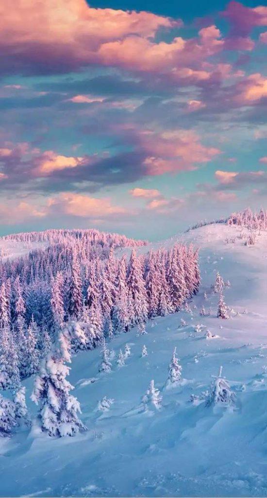 والپیپر و بکگراند زمستان - کپشن و استوری