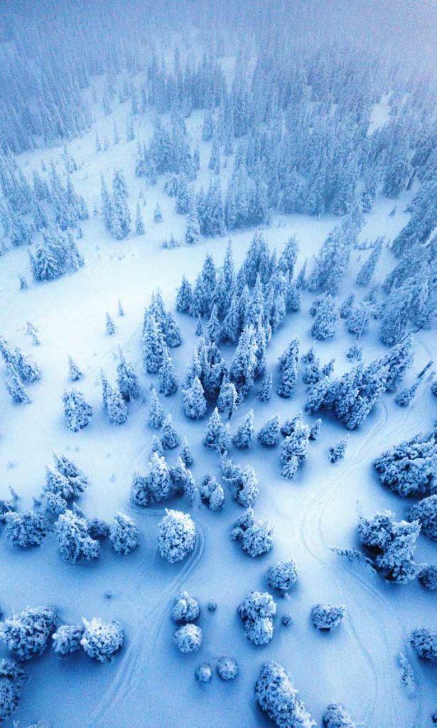 والپیپر زمستانی خاص با کیفیت