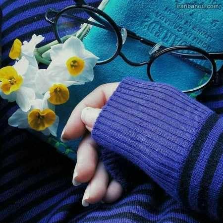 عکس پروفایل دخترونه عینکی
