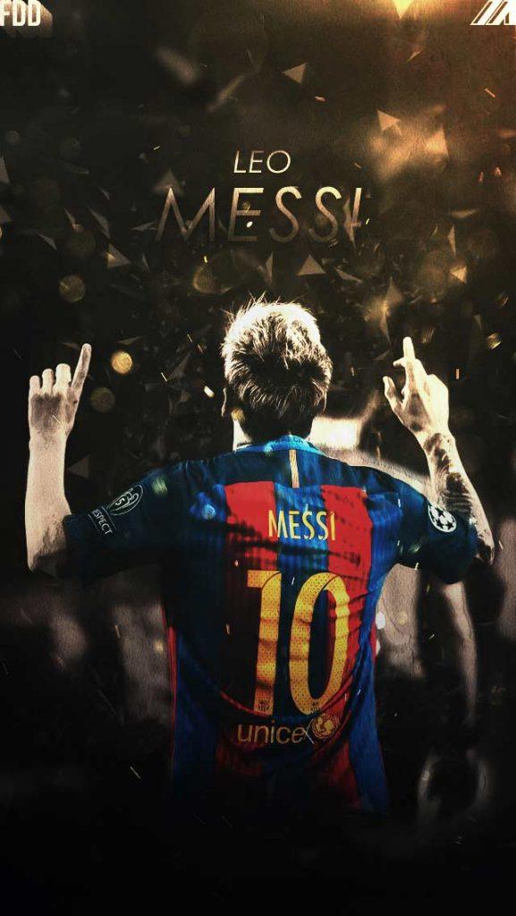 والپیپر و بک گراند بارسلونا مسی