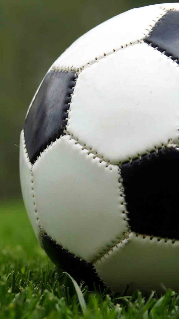 بکگراند و تصویر زمینه توپ فوتبال