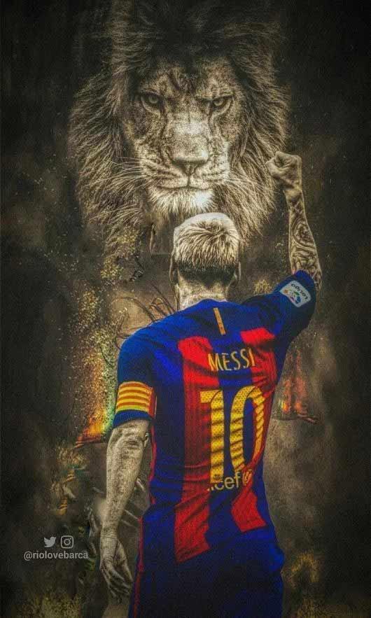 والپیپر فوتبالی مسی