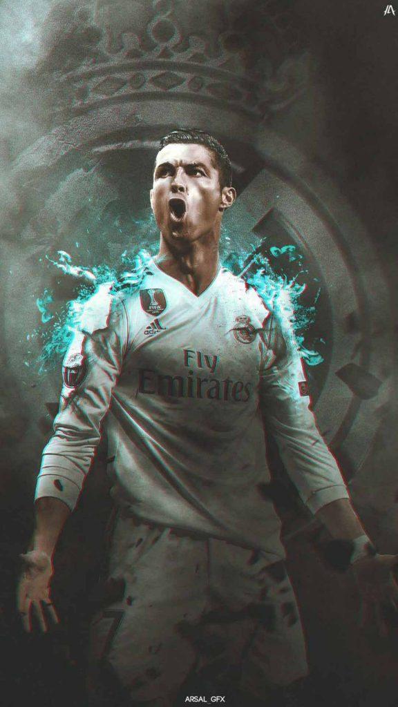 والپیپر فوتبالی رونالدو / رئال مادرید