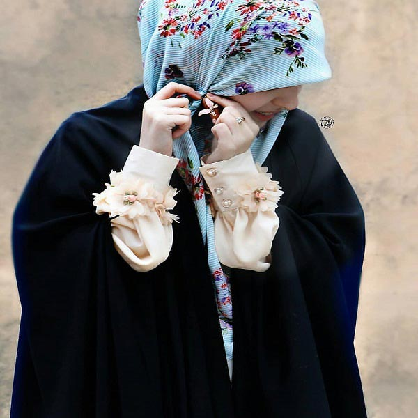 عکس پروفایل دخترونه چادری لاکچری