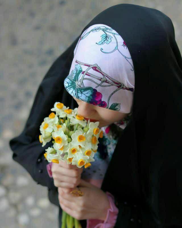 عکس دختر چادری برای عکس پروفایل
