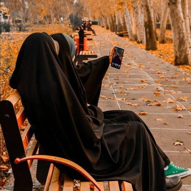 عکس پروفایل دخترونه چادری دونفره
