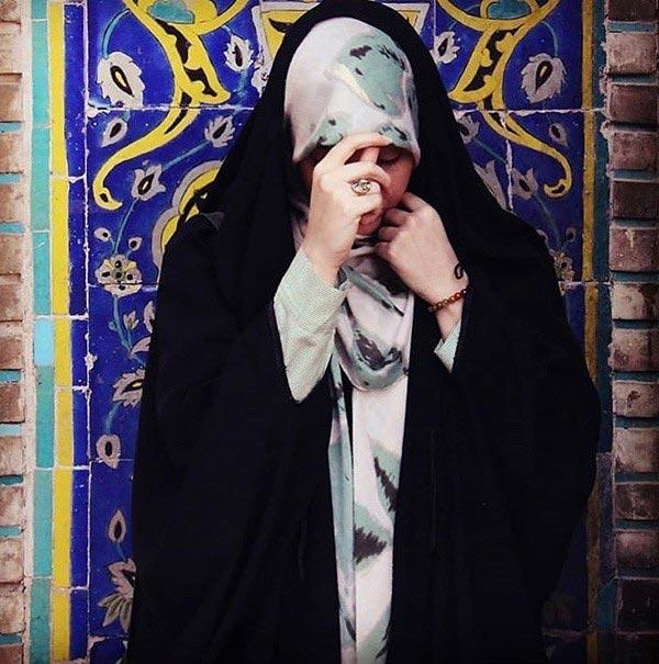 عکس دخترانه باحجاب