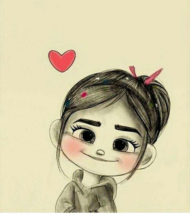 نقاشی / عکس کارتونی دخترونه