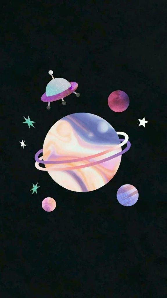والپیپر و بک گراند کهکشانی
